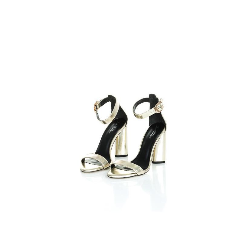 SANDALS GOLD- złote sandałki
