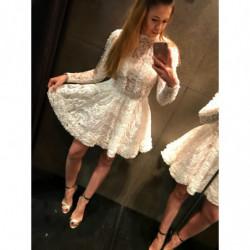 BLOSSOM-rozkloszowana sukienka mini