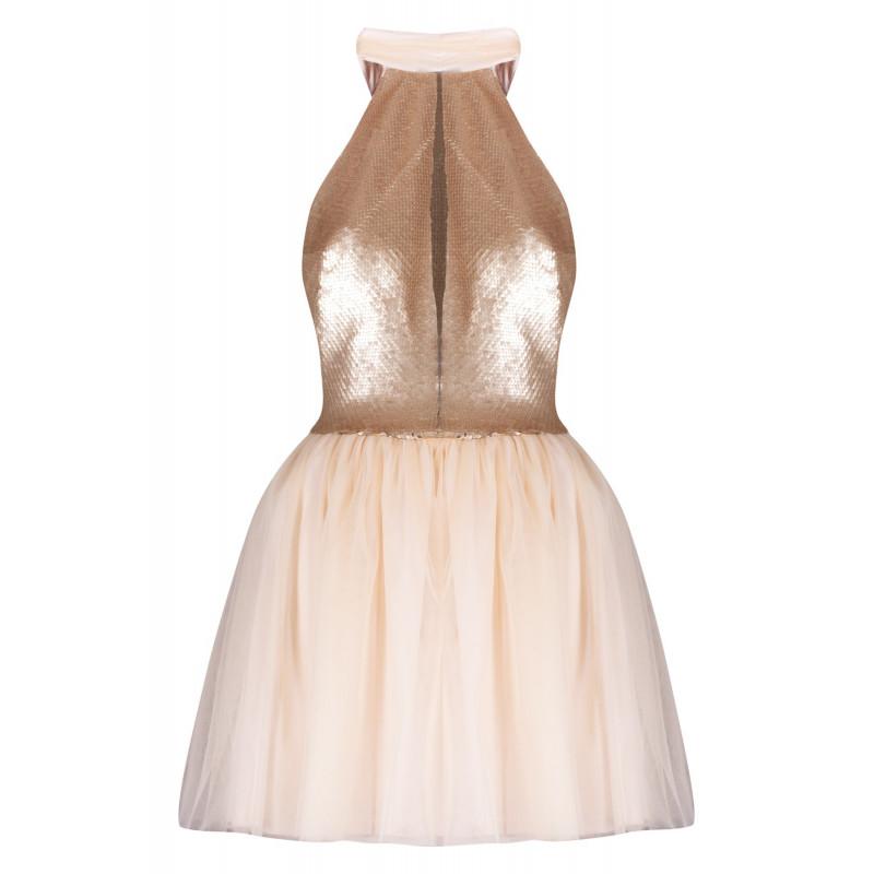 LOLA-rozkloszowana sukienka...