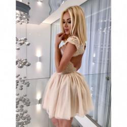 AMY-sukienka mini z siateczki