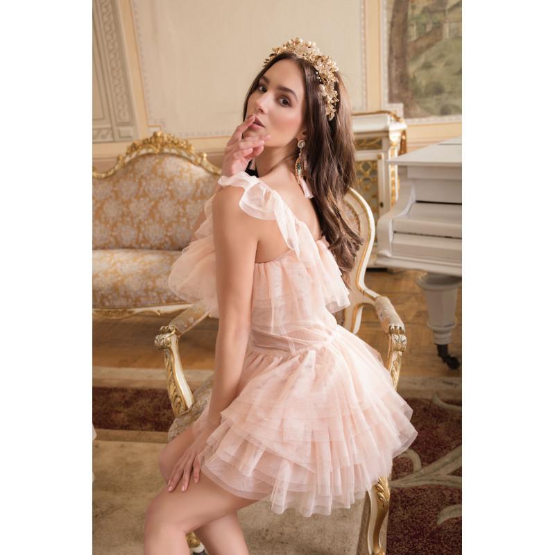 CAMILIA- tiulowa sukienka...