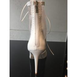 KRIS NUDE-koronkowa sukienka midi