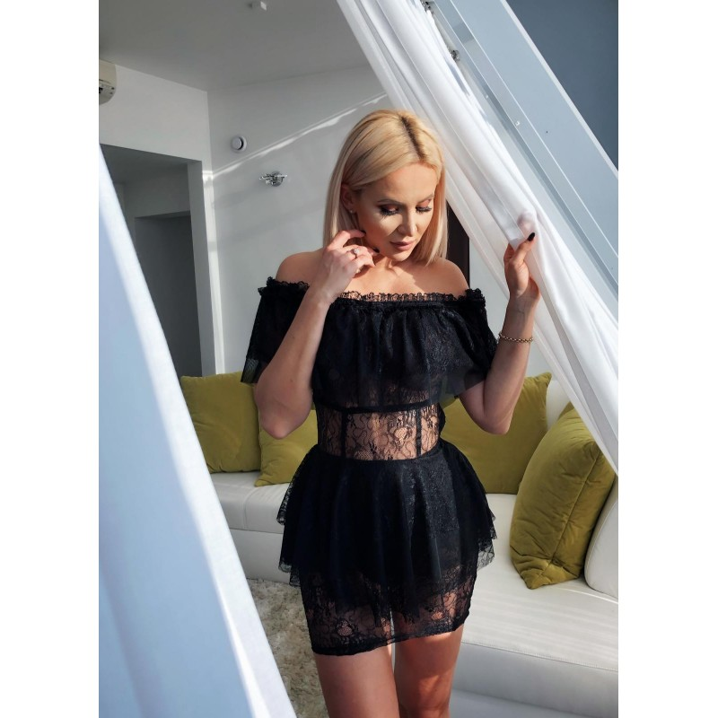 Sophie - mini dress with lace