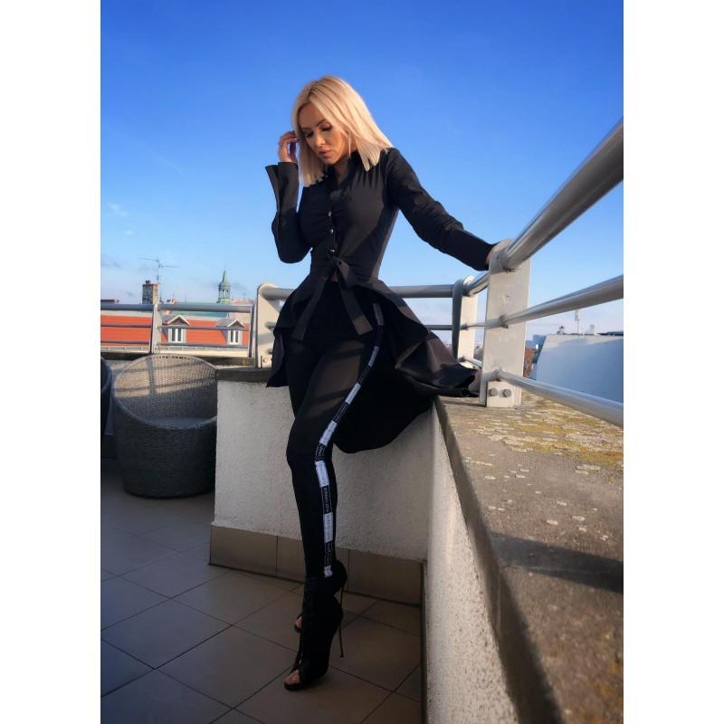 Elna Black - czarna koszula