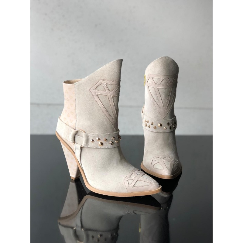 NEVADA - leather boots with...