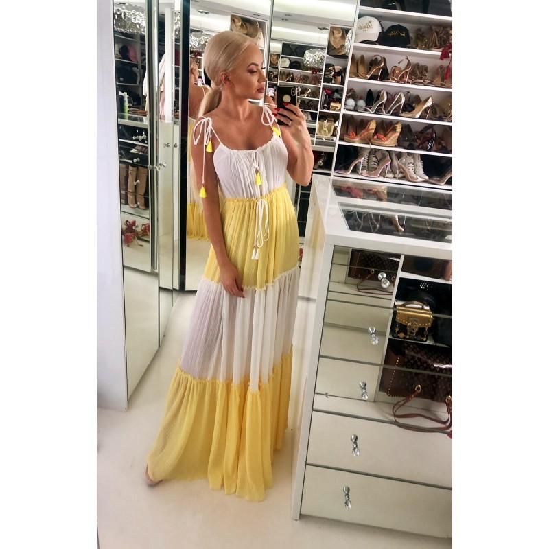 ODESSA - plisowana sukienka...