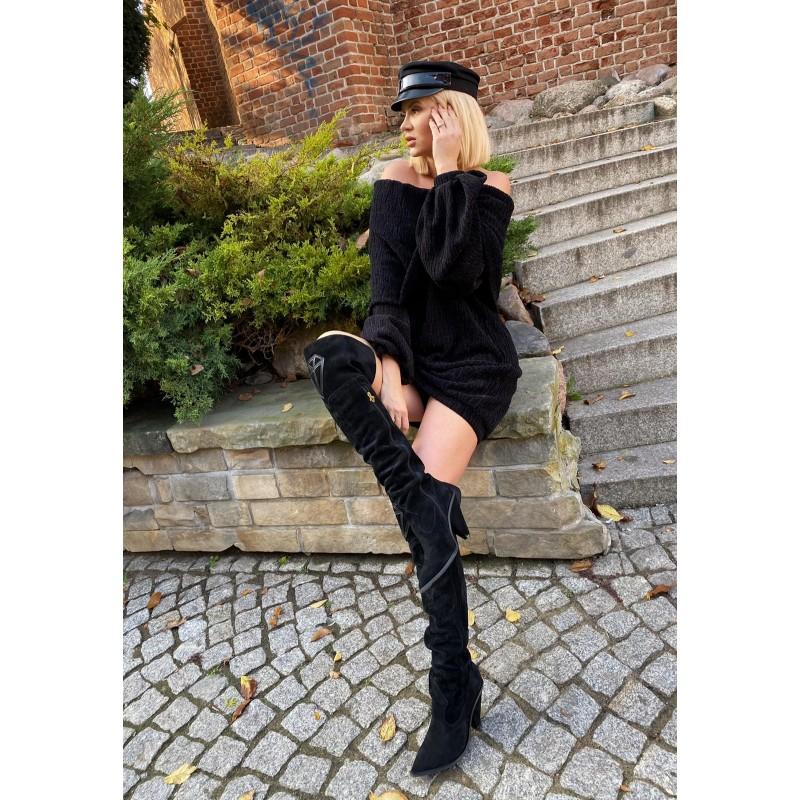 RESTO - czarna sukienka...