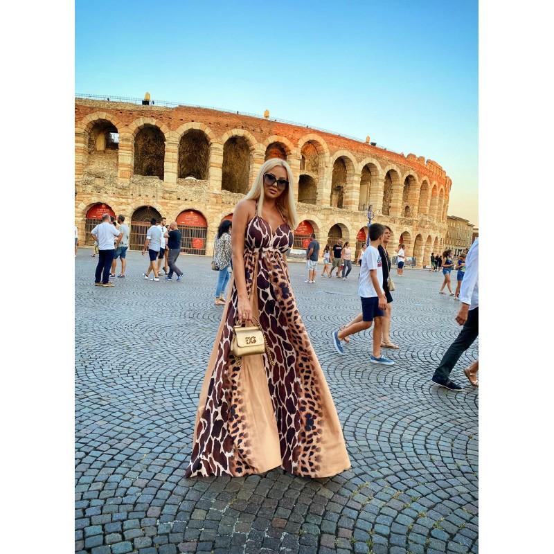TUNISSE - sukienka maxi w...