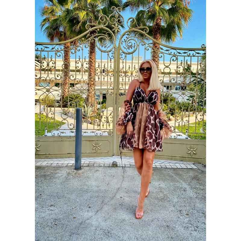 KENYA - mini dress made of...