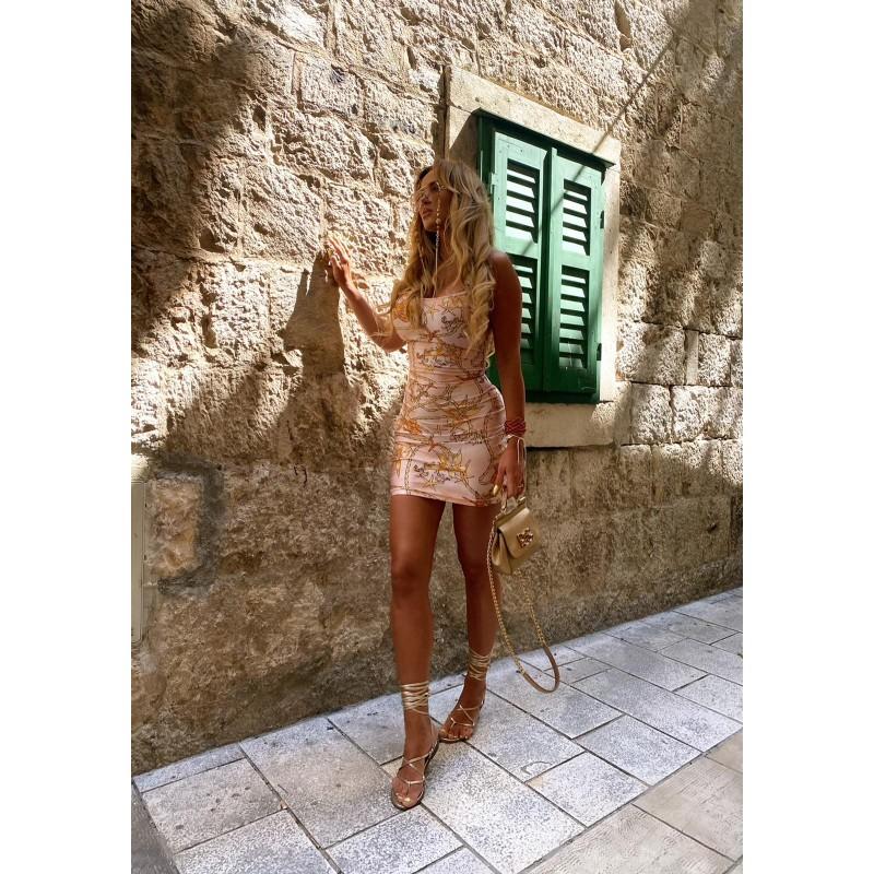 LUCIA DRESS - logged dress...