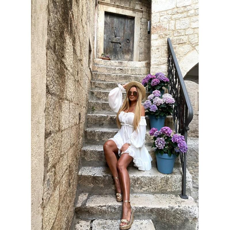 ANGEL -  sukienka biała w...