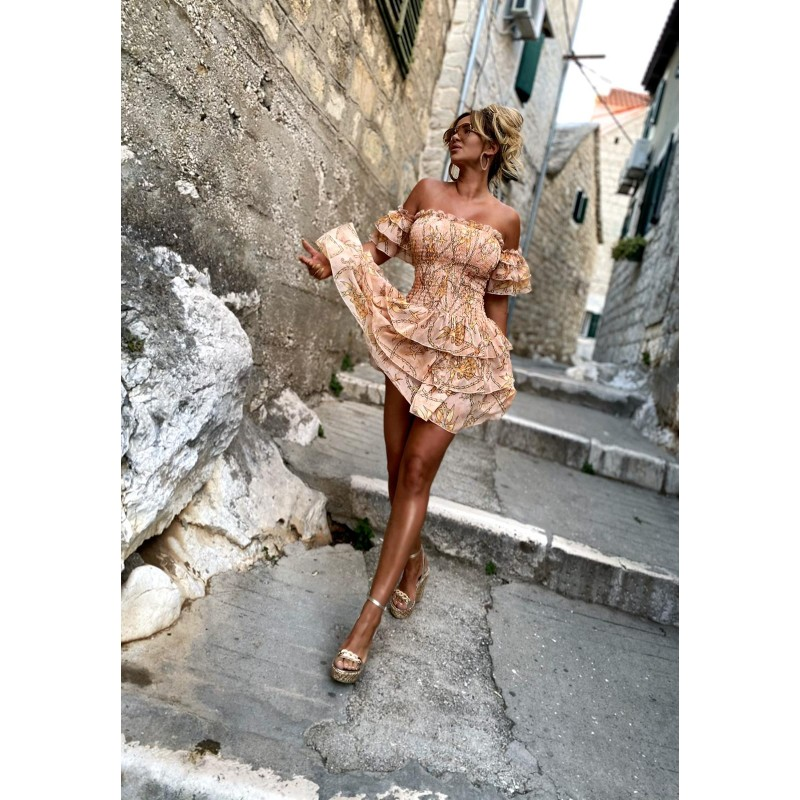 SUEZ DRESS - chiffon dress...
