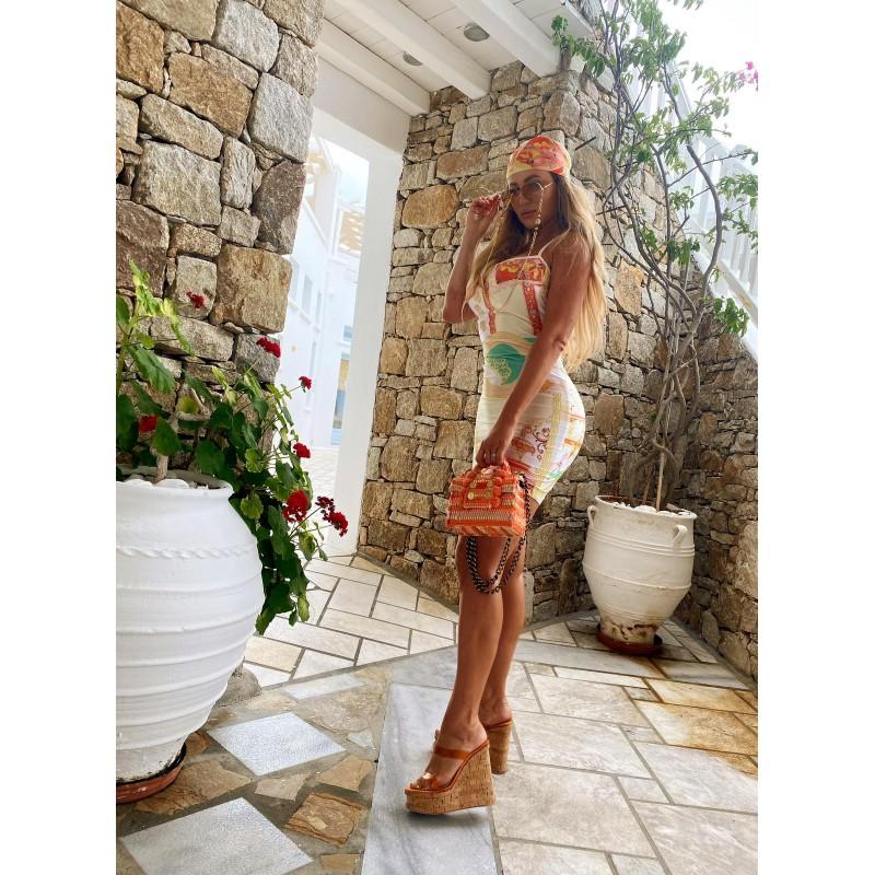 TROPIC DRESS - mini dress...
