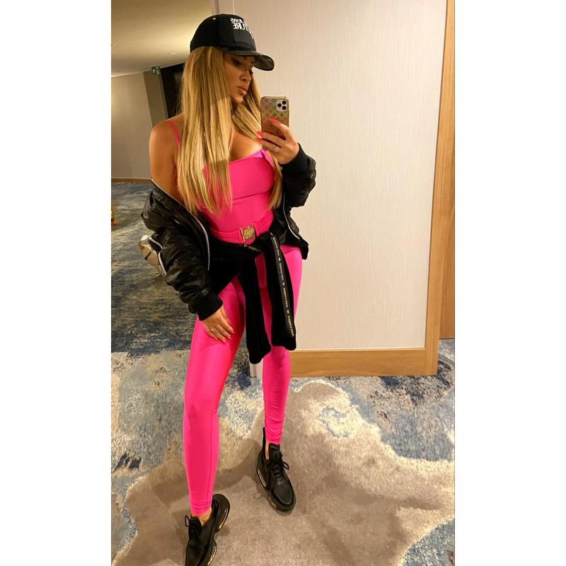 MILANO - long pink lycra...