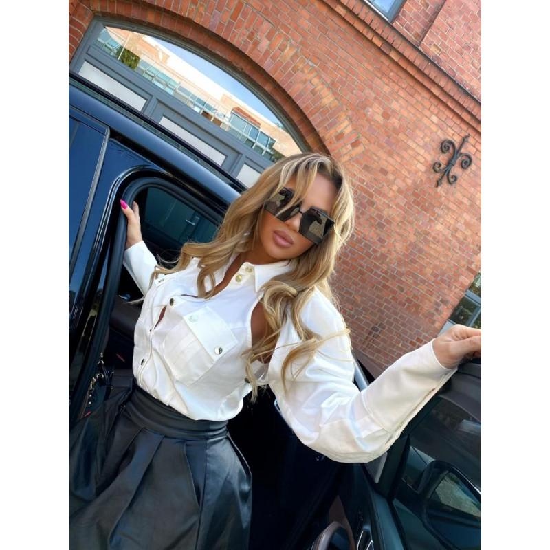 CORTINA - white 2in1 shirt...