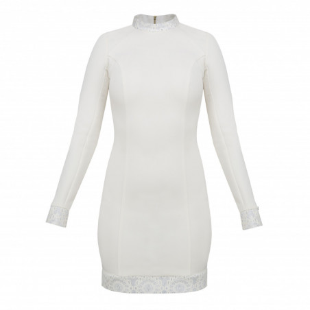 RAPHAEL-szara sukienka mini