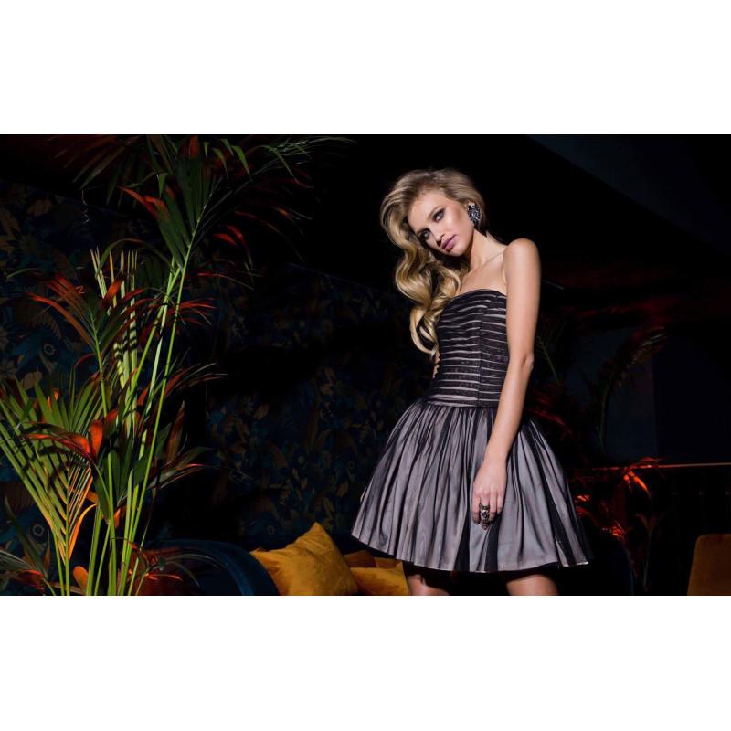 KLIO-gorsetowa sukienka mini
