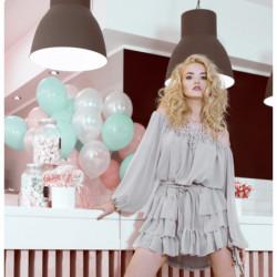 PETIT-sukienka mini z wiskozy