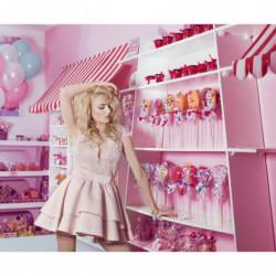LANTERNE-rozkloszowana sukienka mini